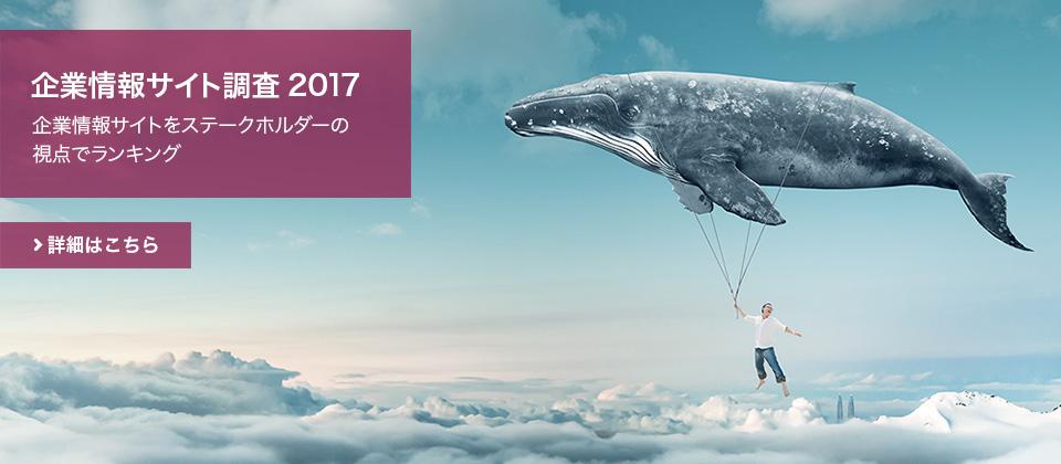 企業情報サイト調査2017